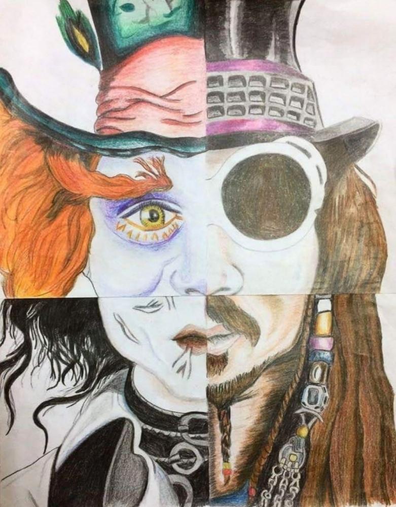 Johnny Depp by RedFirefly